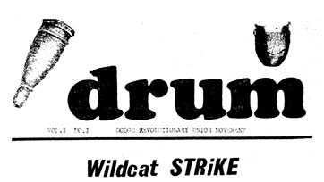 DRUM Newsletter (May 1968)