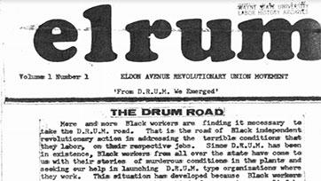 ELRUM Newsletter (Vol 1, No 1)
