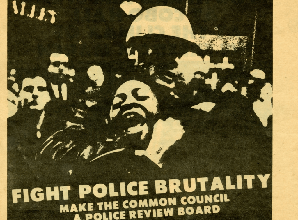 Fight Police Brutality--Elect Albert B. Cleage Councilman