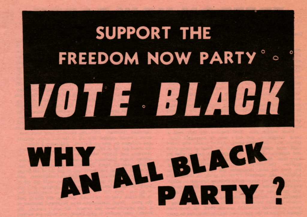 Why An All Black Party?