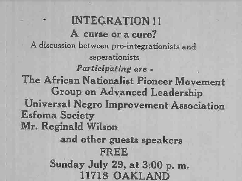 Resurgence of Black Nationalism