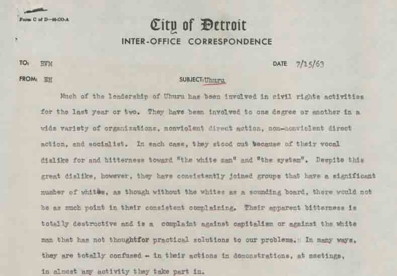 Memo from Richard V. Marks to EH (July 15, 1963)