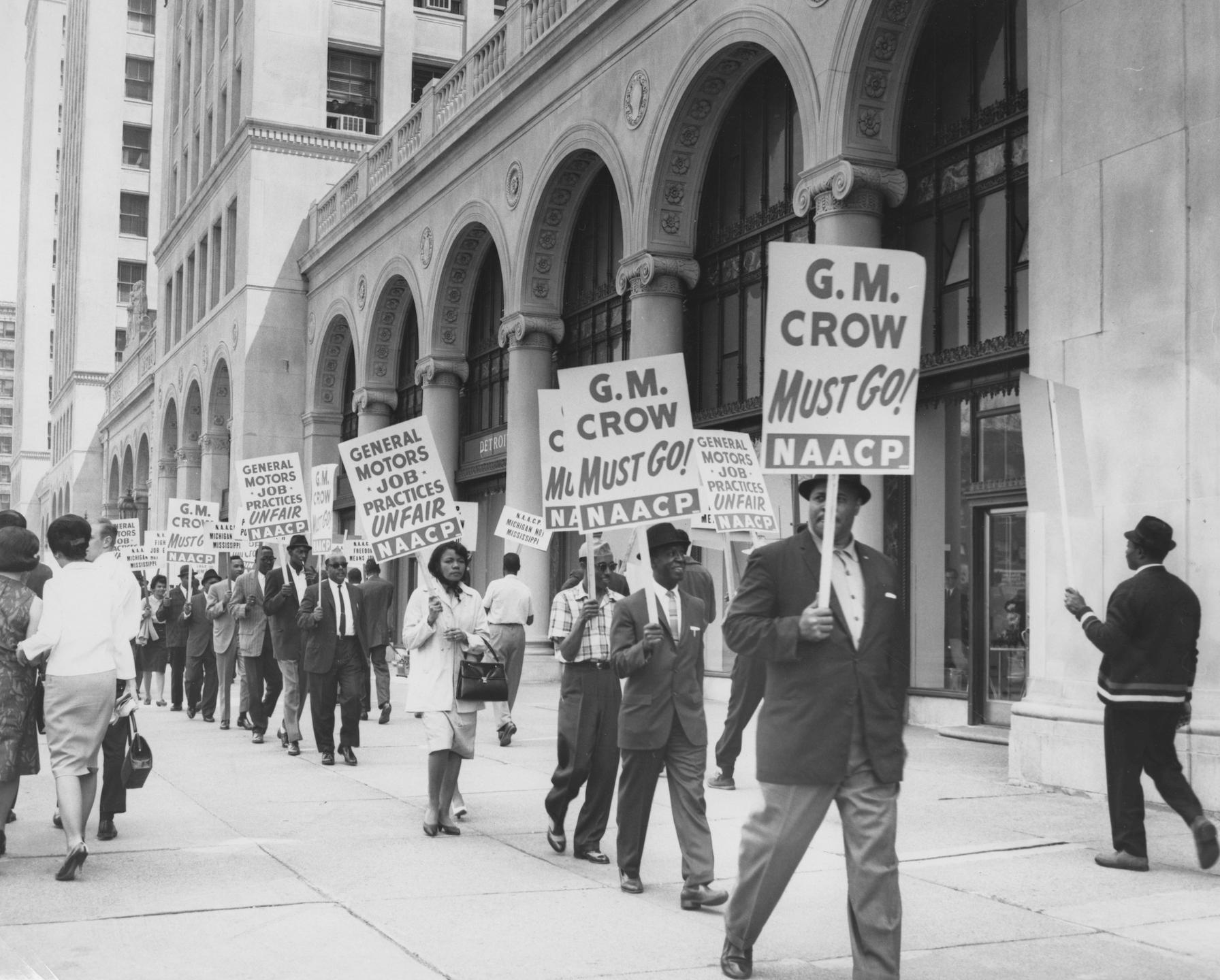 NAACP General Motors Protest, 1964