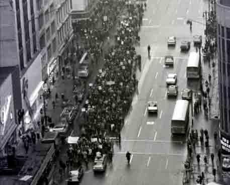 Negroes; Detroit; Selma Protest.