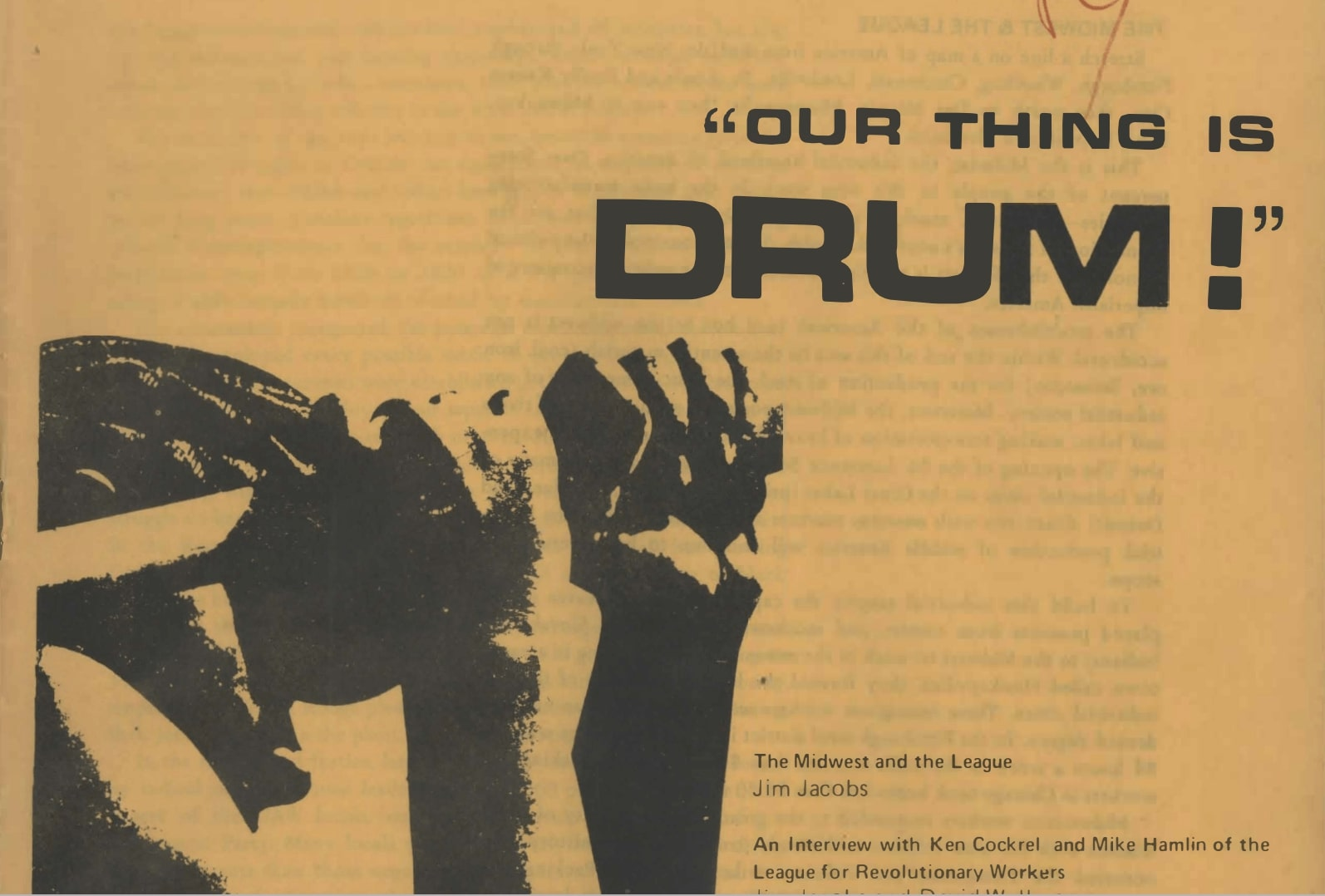 Our Thing Is DRUM!
