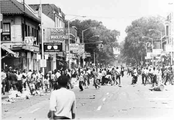 Streetview of 12th Street (July 23, 1967)