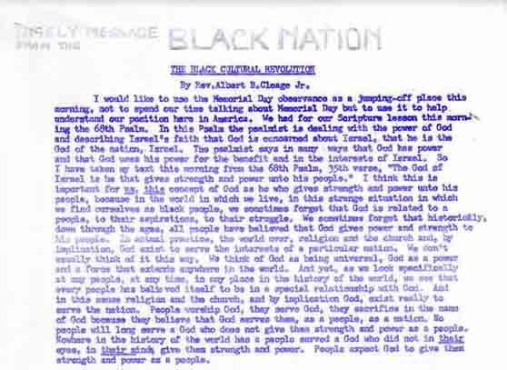The Black Cultural Revolution