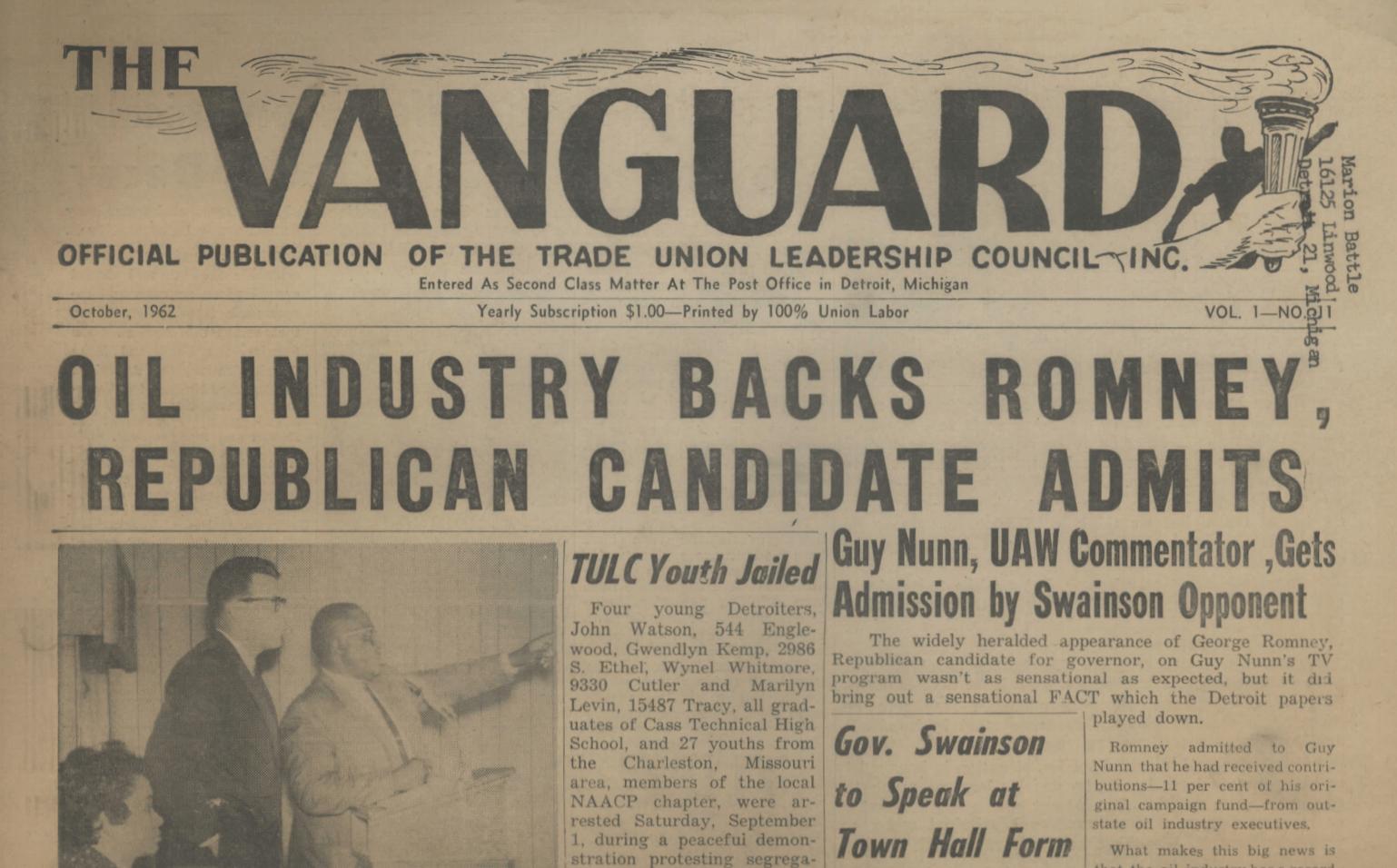 The Vanguard (October 1962)