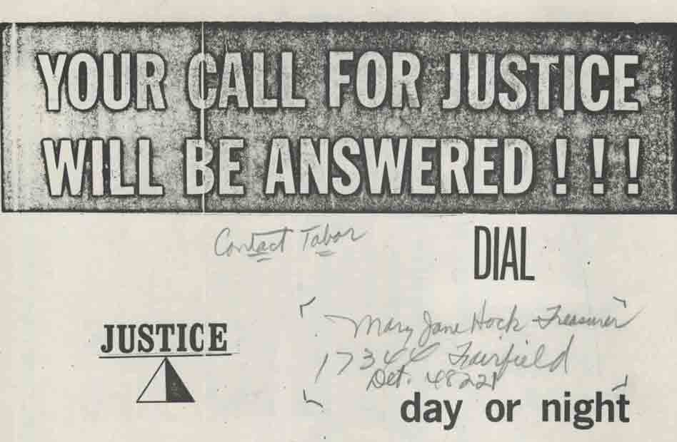Your Call for Justice Will Be Answered!!!
