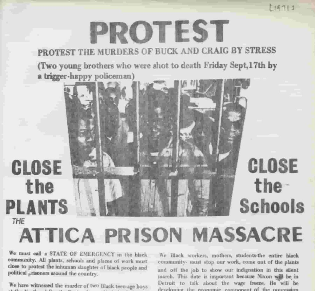 Flyer, Silent Protest March