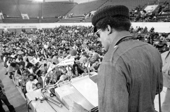 Ken Cockrel at STRESS Rally (1972)