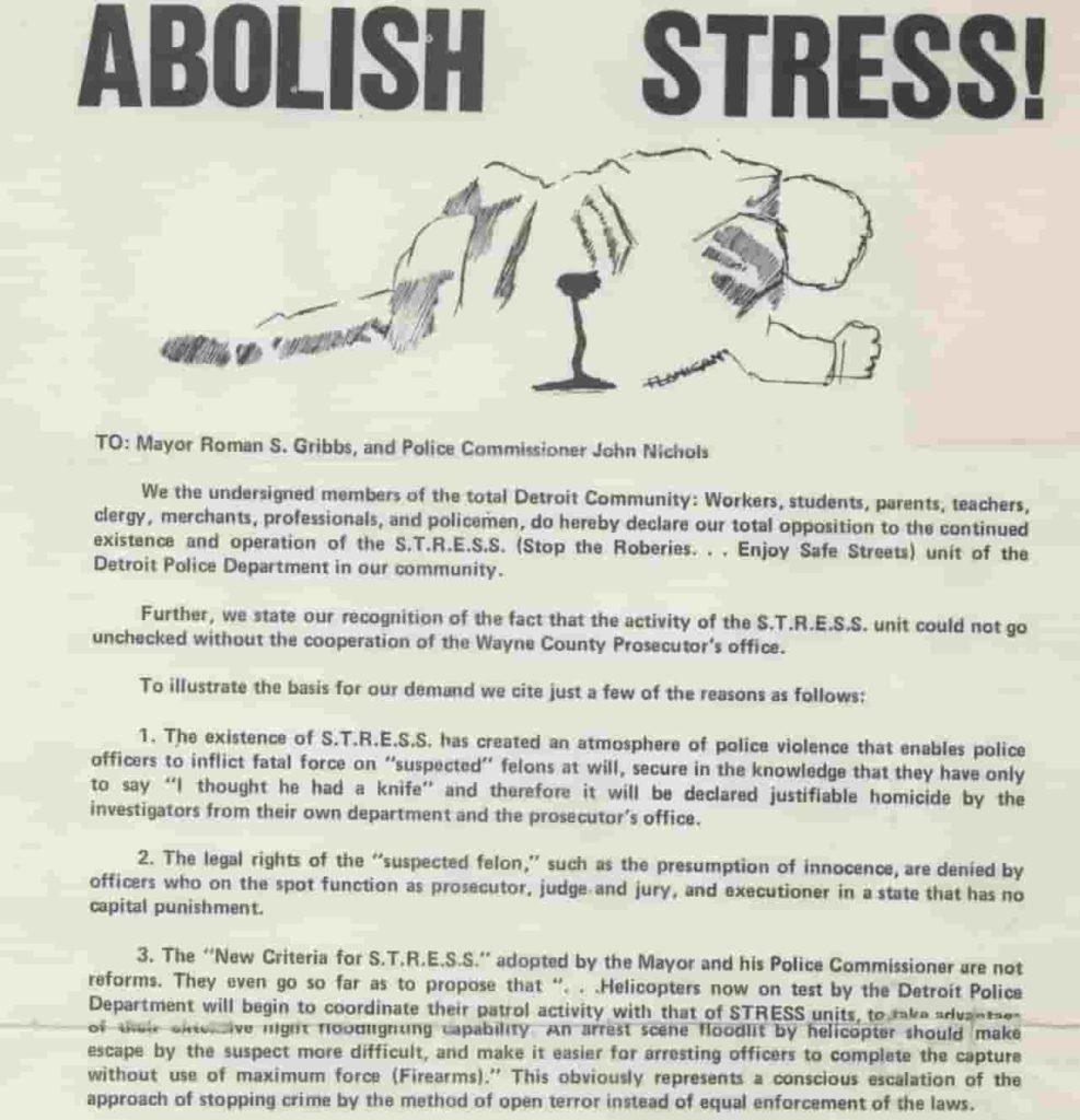 Petition, Abolish STRESS!