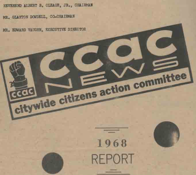 Citywide Citizens Action Committee News 1968 Report
