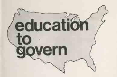 Education to Govern